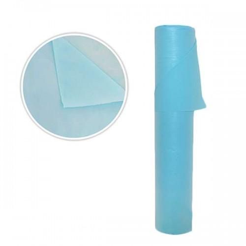 Сини непромокаеми чаршафи - 68 см - Модел SB127