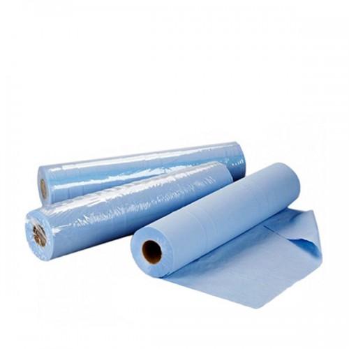 Чаршаф за еднократна употреба на ролка TNT – син 60 см или 70 см
