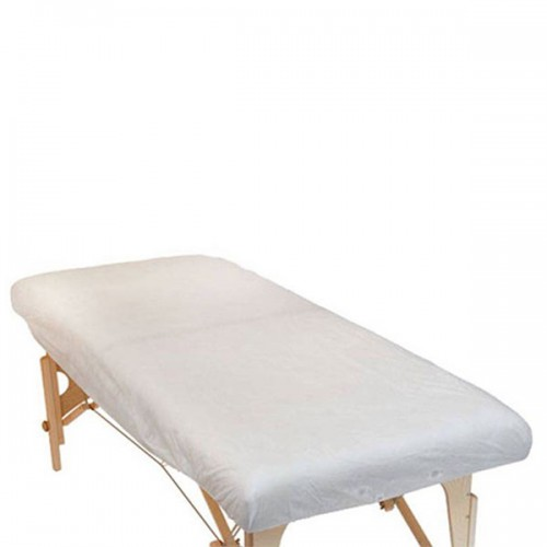Еднократни чаршафи за масажно легло с ластик - опаковка 10 броя