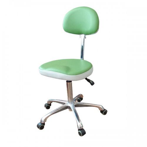 Козметична табуретка в зелен цвят - 3007
