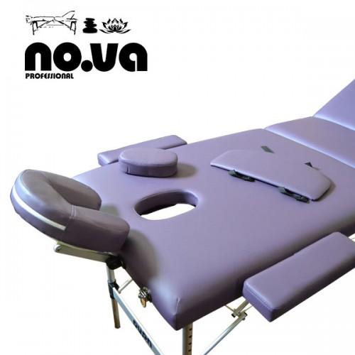 Алуминиева Масажна Кушетка NO.VA Aero Plus NV31 в лилаво