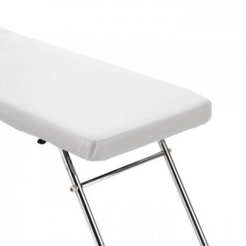 Непромокаеми еднократни чаршафи за масажно легло с ластик - опаковка 10 броя