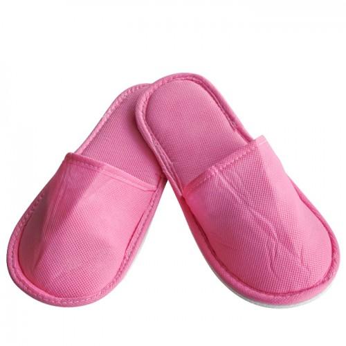 Плътни ТНТ чехли с твърда подметка, Розов цвят