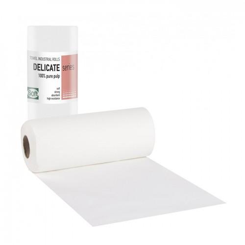 Еднократни хартиени кърпи на ролка двупластови 500 гр. или 1000 гр.
