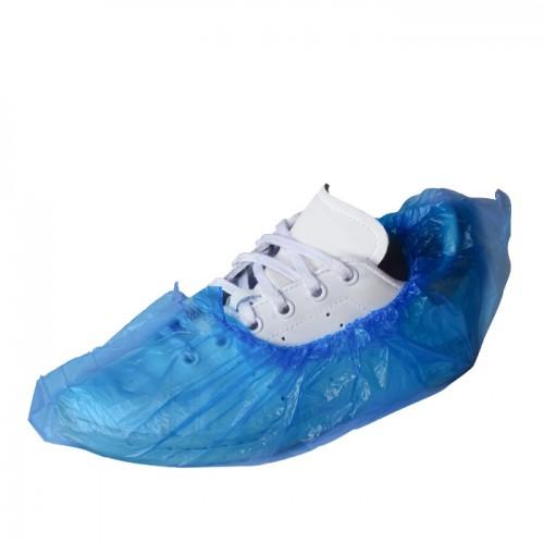 Полиетиленови калцуни за еднократна употреба B102 в син цвят