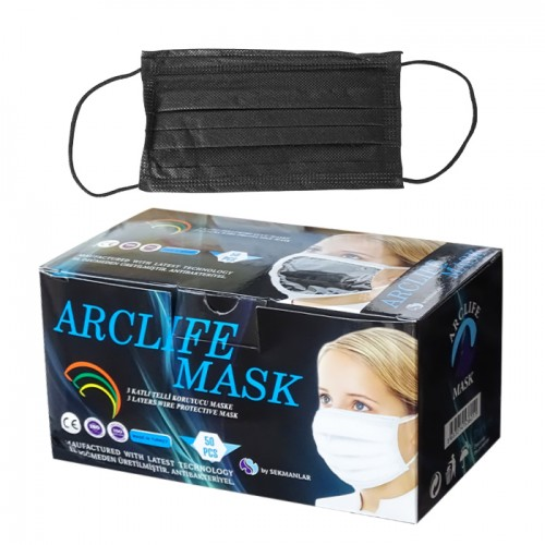 Трислойни медицински маски Arclife mask - 50 броя