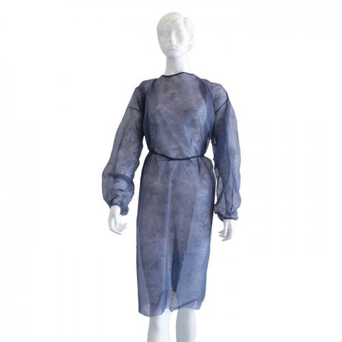 Нестерилна медицинска престилка от нетъкан текстил Softcare, Син цвят