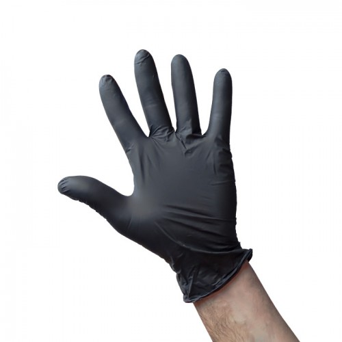 Еднократни ръкавици от нитрил Premium, S размер, 100 броя