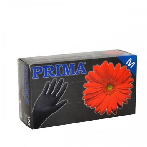 Черни ръкавици за еднократна употреба - кутия 100 броя