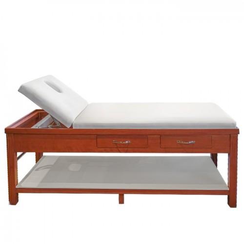 Стационарно дървено масажно и козметично легло ML310
