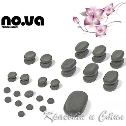 35 х Базалтови Вулканични Камъни За Масаж – Комплект
