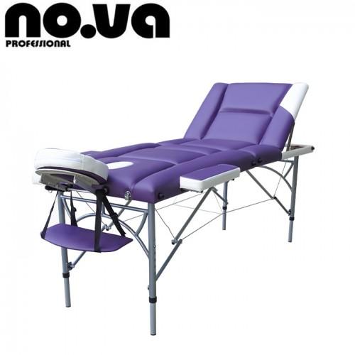 Алуминиева масажна кушетка NO.VA Aero Delux Plus NV36