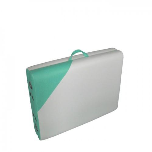 Масажна Кушетка NO.VA Aero Delux NV21, Бял/Зелен