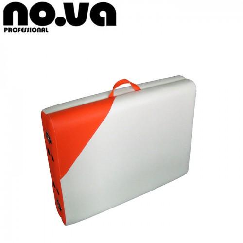 Масажна Кушетка NO.VA Aero Delux NV21, Бял/Оранжев