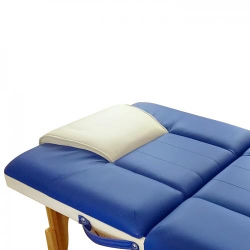 Дървена масажна кушетка с повдигащ механизъм W3041 - трисекторна