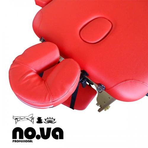 Червена Дървена Кушетка За Масаж NO.VA Standart NV22