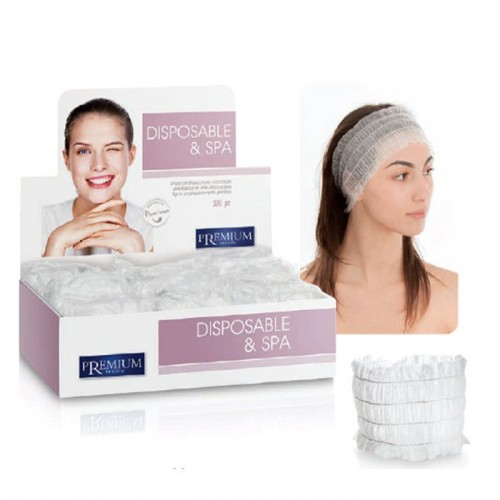Ленти за коса за еднократно ползване от нетъкан текстил Xanitalia Premium 100 броя