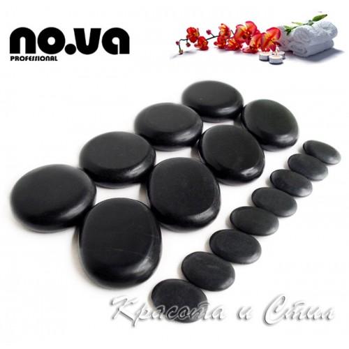 Базалтови Вулканични Камъни за масаж - Комплект 16 броя
